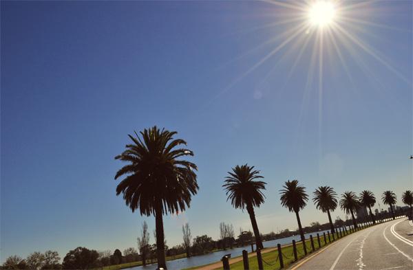 Albert Park Lake, Melbourne, Australia